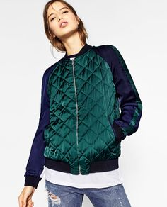 BOMBER BORDADA REVERSIBLE
