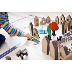 Pakiet - Domostrada + Domki z kartonu