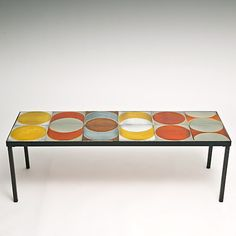 Roger Capron - Tile Top Coffee Table