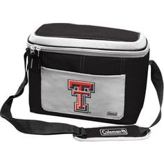 Coleman 11 inch x 7 inch x 9 inch 12-Can Cooler, Texas Tech Red Raiders