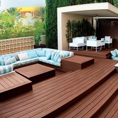 Patio plus maintenance-free deck builder design and patio in