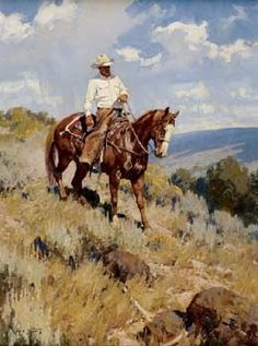 "Jim C. Norton art ...I love his work, especially this one! ""The Trail Home"""