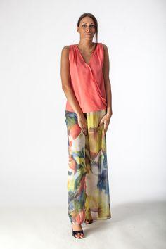 falda floreada, fantasy skirt, gonna fiorata.
