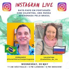 Brazilian Portuguese, I Hope You, Homeland, Wednesday, Rio, Russia, Let It Be, Times, Learning