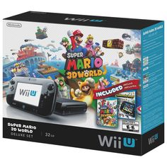 Nintendo Wii U 32GB Super Mario 3D World Deluxe Set