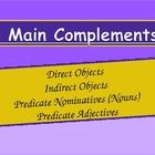 Learning Direct Objects, Indirect Objects, Predicate Nominatives/Nouns and Predicate Adjectives $