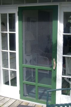 My dream screen door..thinking about 2 of them..one on back door and 1 from kitchen to pantry