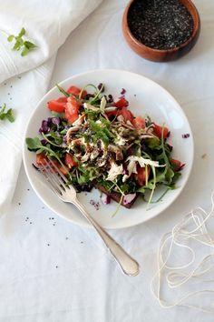 Eat Love: Eat Love - Salad Toast!