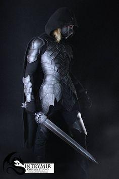 anime male The Elder Scrolls SKYRIM Nightingale cosplay armor MALE - high quality eva costume - Skyrim thief larp friendly halloween costume Skyrim Cosplay, Cosplay Armor, Skyrim Costume, Larp Costumes, Skyrim Concept Art, Armor Concept, Viking Armor, Medieval Armor, Jedi Armor