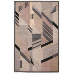 Casual Nourison Hand-Tufted Dimensions Grey Rug