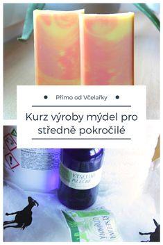 Výroba přírodních mýdel pro středně pokročilé - jak to probíhalo na kurzu v Lisolajích #mydlo #prirodni #kosmetika Detox, Projects To Try, Soap, Personal Care, Cosmetics, Homemade, Bottle, Blog, Diy