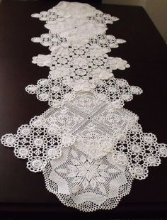 Vintage Doily Runner Wedding Table DecorationTable RunnerEco