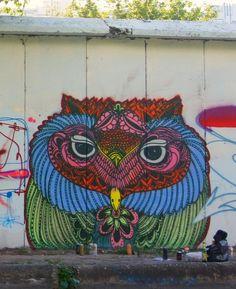 Alexander Frank street graffiti  @Krystal Raney