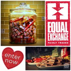 SWEEPSTAKES ALERT! --  GreenCupboards has a new sweepstakes just in time for Valentine's Day! Enter for a chance to WIN $165 worth of fairly-traded products from Equal Exchange. This giveaway ends February 11th, so don't forget to share with friends and sign up today! --  Enter Now!
