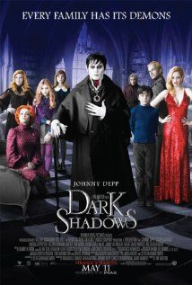 Dark Shadows ~~ A gothic-horror tale centering on the life of vampire Barnabas Collins and his run-ins with various monsters, witches, werewolves and ghosts. Based on the cult TV series.
