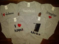 Personalized Baby Onesies     Starting at $10
