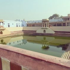 Historical reservoir at Mathura
