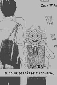 Fingir una sonrisa es lo mas doloroso que puedes hacer, porque te estas mintiendo a ti mismo sin darte cuenta