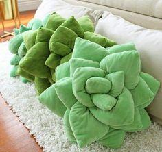 Succulent Cactus Decor Pillow - For the Home - Cool Decorative Pillows Decoration Cactus, Decorations, Farmhouse Side Table, Farmhouse Decor, Cute Dorm Rooms, Kids Rooms, Küchen Design, Handmade Home Decor, My New Room