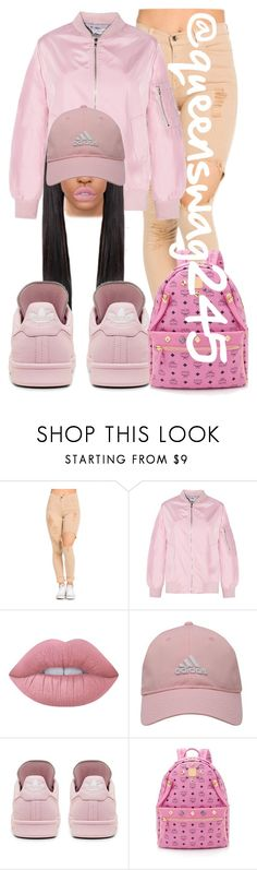 Powder Pink by queenswag245 on Polyvore featuring adidas, MCM, adidas Golf and Lime Crime