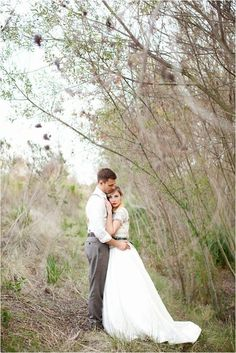 Photo shoot of bride and groom