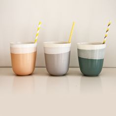 Large Beakers By Brooke Thorn