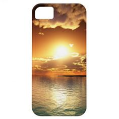 Sunset iPhone 5 Case Template