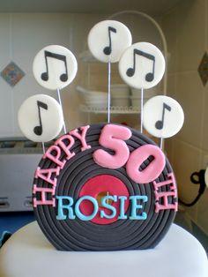 rock n roll birthday cake ideas - Google Search