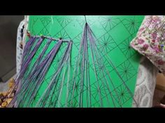 Remate de un fular - YouTube Bobbin Lace, Videos, Tapestry, Pattern, Youtube, Decor, Wave, Cakes, Lace Jewelry