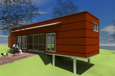 Modern Other Elevation Plan #450-3 - Houseplans.com