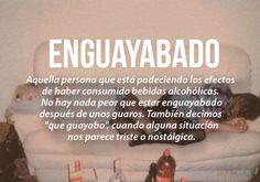 Que guayabo