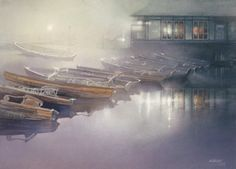 Mystical Boats by Nita Engle