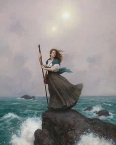 Mother Ocean, Daughter Sea, an art print by Tristan Elwell - INPRNT