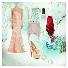 """""""Ariel look 3"""" by gwyn3704 on Polyvore featuring Notte by Marchesa, Steve Madden, Samoon, Jessica Simpson, West Coast Jewelry and Charlotte Russe"""