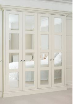 elegant mirrored closet doors