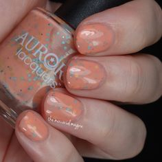 Aurora Lacquers - Endless Sunset - Awesome Sauce Indie Box Exotic Destinations Exclusive BNNU $10