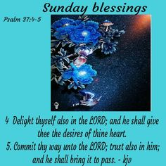 Psalm 37 4, Psalms, Sunday Love, Good Morning Quotes, Blessings, Bible Verses, Pray, Blessed, Inspirational