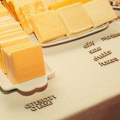 A DIY grilled cheese buffet: | 23 Brilliant Wedding Bars From Couples Who Dared To Dream