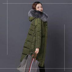 Elogoog Mens Vintage Warm Thicken Faux Fur Winter Coat Luxury Parka Jacket Outwear