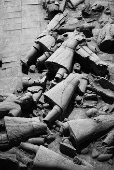 Terracotta Warriors . Xian, China www.etsy.com/shop/roamingstills