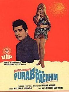 Purab Aur Paschim Hindi Movie Online - Ashok Kumar, Saira Banu, Manoj Kumar, Pran, Nirupa Roy, Vinod Khanna and Prem Chopra. Directed by Manoj Kumar. Music by Kalyanji-Anandji. 1970 [U] ENGLISH SUBTITLE
