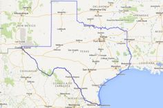 Ever wondered what the Texas would look like if you stuck it on top of another state or country? There's MAPfrappe for that.  The online tool designed by Kelvin Thompson allows users to draw outlines on a Google map and drag the outline over anything on Earth.Scroll through to see how Texas sizes up with other places on the globe. Photo: MAPfrappe/Google Maps