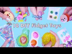 10 DIY Best Compilation TIKTOK POP IT Fidget toys! VIRAL TikTok anti-stress fidgets - YouTube 5 Minute Crafts Videos, Diy Videos, Craft Videos, Diy Crafts To Do, How To Make Diy, Paper Crafts, Figet Toys, Diy Toys, Pop It Toy