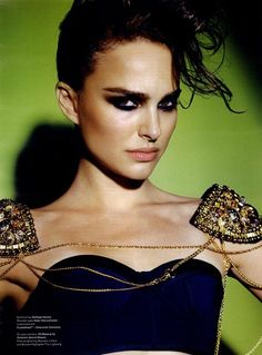 V Editorial Natalie or Northing, Winter 2009 Shot     Charlotte Tilbury makeup