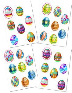 Játssz az iskolába: didaktikai játék a gyerekek húsvéti keresése - egy pár