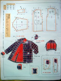 Baby Dress Patterns, Kids Patterns, Coat Patterns, Clothing Patterns, Sewing Patterns, Sewing Baby Clothes, Sewing Coat, Baby Sewing, Jacket Pattern