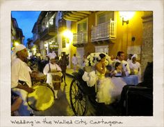 Wedding in the Walled City, Cartagena