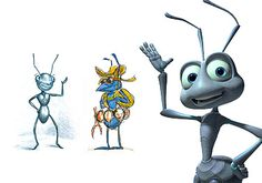 "Flik - ""Pretend this is a seed. Disney Disney, Disney Movies, A Bug's Life, Cartoon Characters, Fictional Characters, Disney Animation, Disney Channel, Pixie, Bugs"