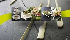Bamboo dishes