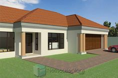 Free House Plans, House Layout Plans, Family House Plans, Tuscan House Plans, Modern House Plans, Double Storey House Plans, House Plans South Africa, Bungalow Style House, African House